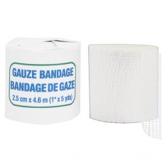 Gauze Bandage Roll, 2.5 cm x 4.6 m, Roll