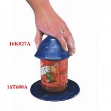 """Dycem Placemat Blue 5.5"""" Diameter"""