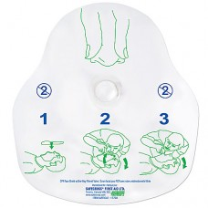 CPR Face Shield with One-Way Filtered Valve