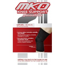 MKO Knee Support Closed Patella Tan Medium