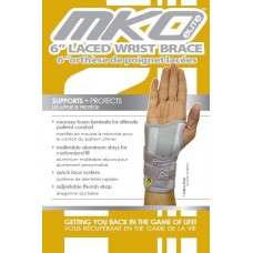 "MKO Elite 6"" Laced Wist Brace X-Large Right"