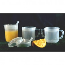 2-Handle Mug 8oz (2 lids)