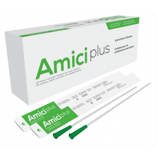 Amici Plus Male Intermittent Catheter 14 French