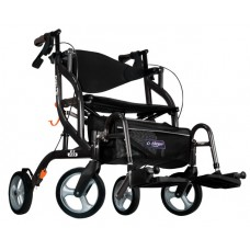 Airgo Fusion F23 side-folding walker and transport chair