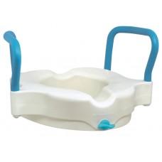 AquaSense 3-in-1 Contoured Raised Toilet Seat