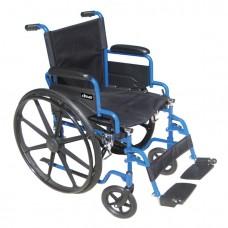 """Blue Streak Wheelchair 20"""""""