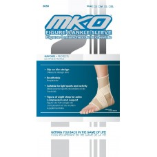 MKO Figure 8 Ankle Sleeve Large