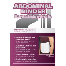 3 Panel Abdominal Binder Up To 45""