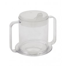 Clear 2-Handle Cup