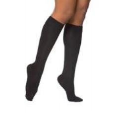 15-20 Mmhg Knee Hi Ctoe Black