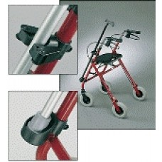 """Cane/Crutch Cup And Clamp Set,1"""""""